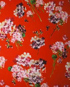 Marrocain Crep Estampado flores Rafael Matias Tejidos Ref.: 747901