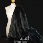Rafael Matías Tejidos Fabrics. Pelo largo negro. 641001.