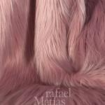 Rafael Matías Tejidos Fabrics. Pelo largo rosa. 641000.
