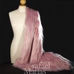 Pelo largo rosa