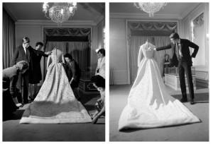 El vestido de novia y las madrinas. La Ceremonia.