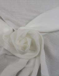 Gasa de algodón orgánico color natural 619501.