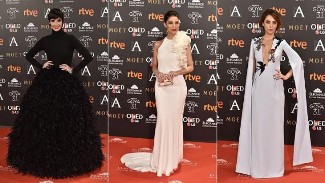 c8b3220f1d La alfombra roja de los Premios Goya 2017