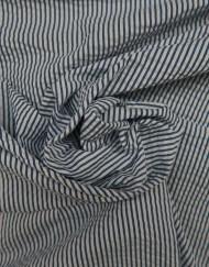 Tela algodón raya marino blanco 607056.
