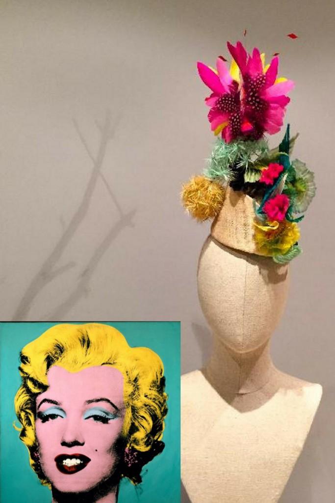 Sombreros con arte.
