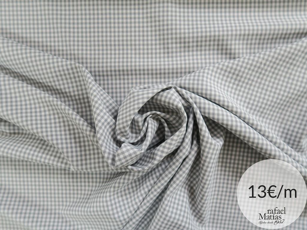 Ref 509.686 Tela vichy gris.