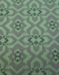 Retal jacquard estampado arabesco