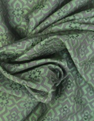Tela jacquard estampado arabesco
