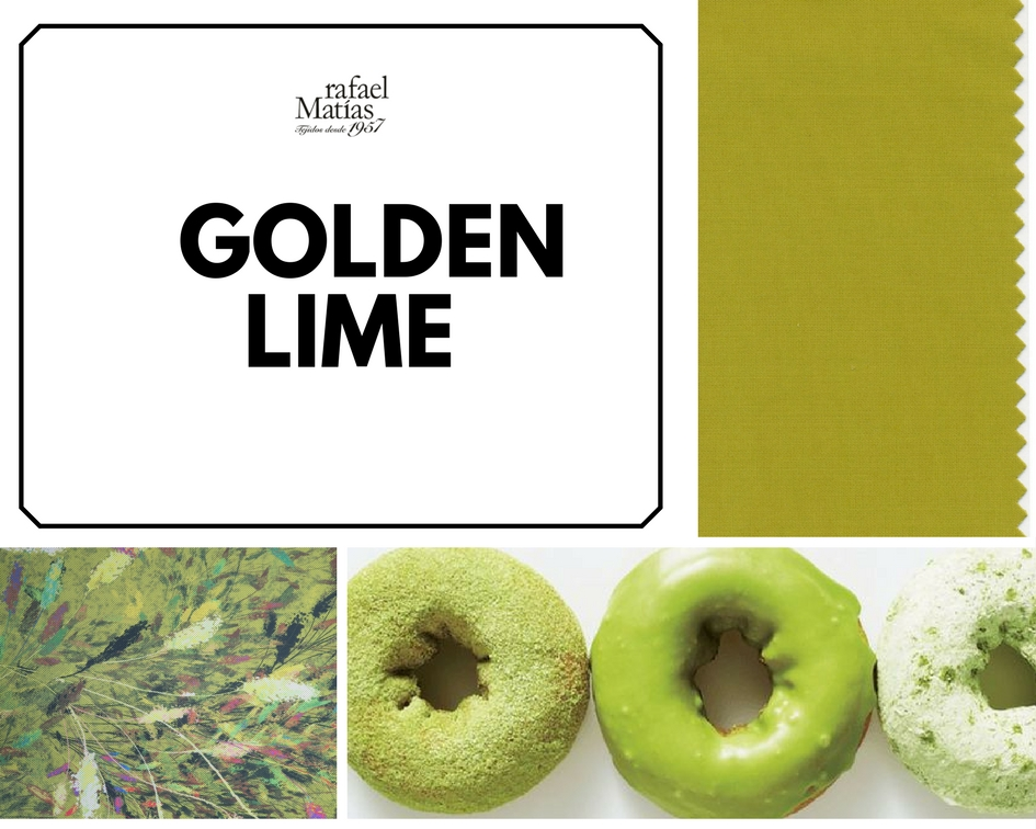 Golden lime. Color Tendencia Otoño Invierno 2017 / 2018