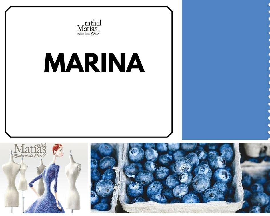Marina. Color Tendencia Otoño Invierno 2017 / 2018