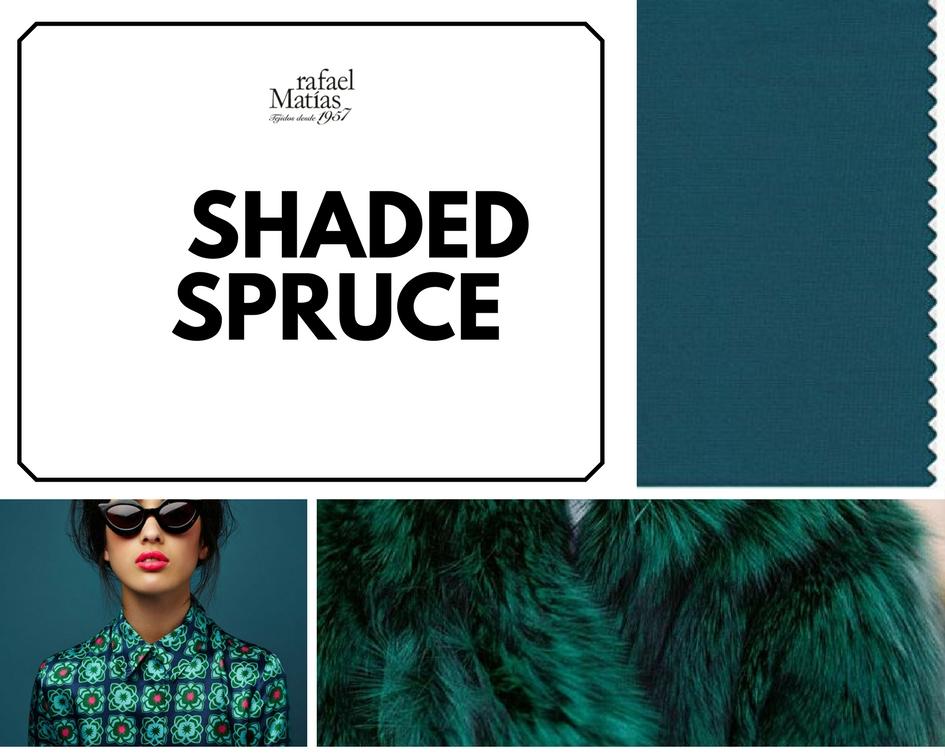 Shaded spruce. Color Tendencia Otoño Invierno 2017 / 2018