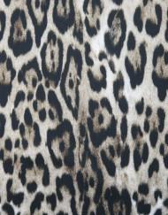 Tela neopreno leopardo gris