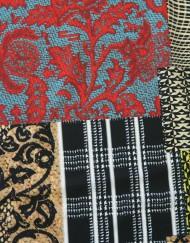 Tela marrocain estampado patchwork