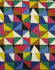 Tela algodón estampado geométrico