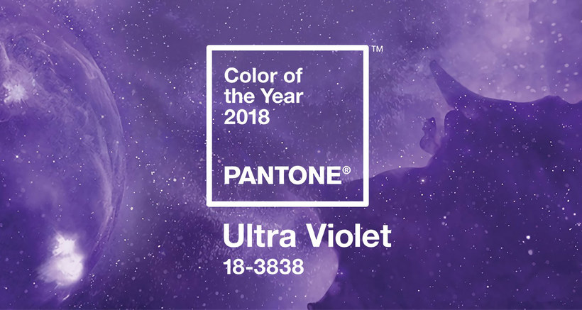 Ultra violet color 2018 pantone
