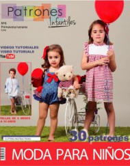 Revista patrones infantiles nº 6.
