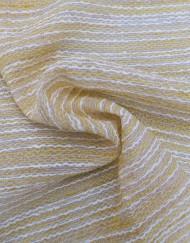 Tela organza chanel amarillo