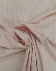 Tela vichy seersucker rosa