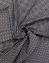 Tela algodon estampado corbatero marino 532991. Rafael Matías Tejidos