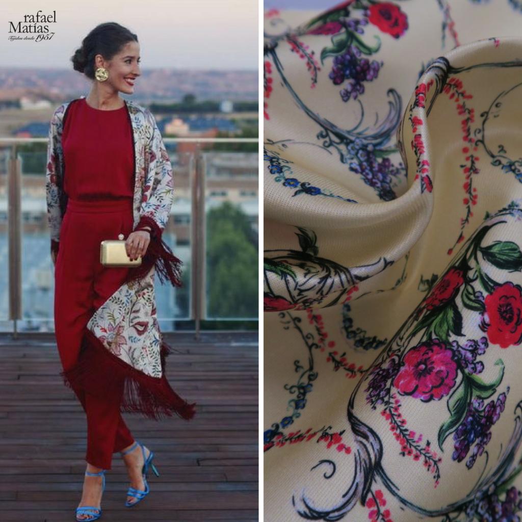 Kimonos. La invitada perfecta. Rafael Matías Tejidos