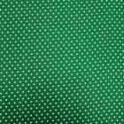 Tela crep lunar verde