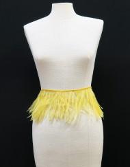 Tira plumas amarillo