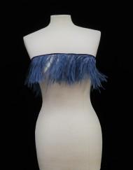 Tira plumas azul