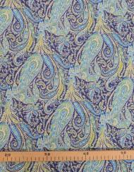 Liberty cachemire azul