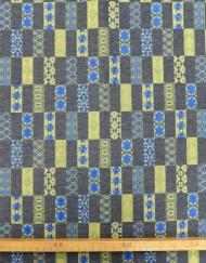 Tela jacquard mosaicos pistacho