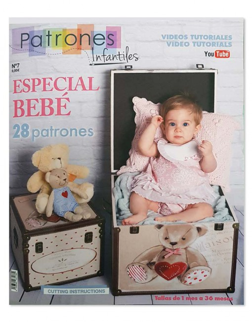 Revista patrones bebé. Rafael Matías Tejidos