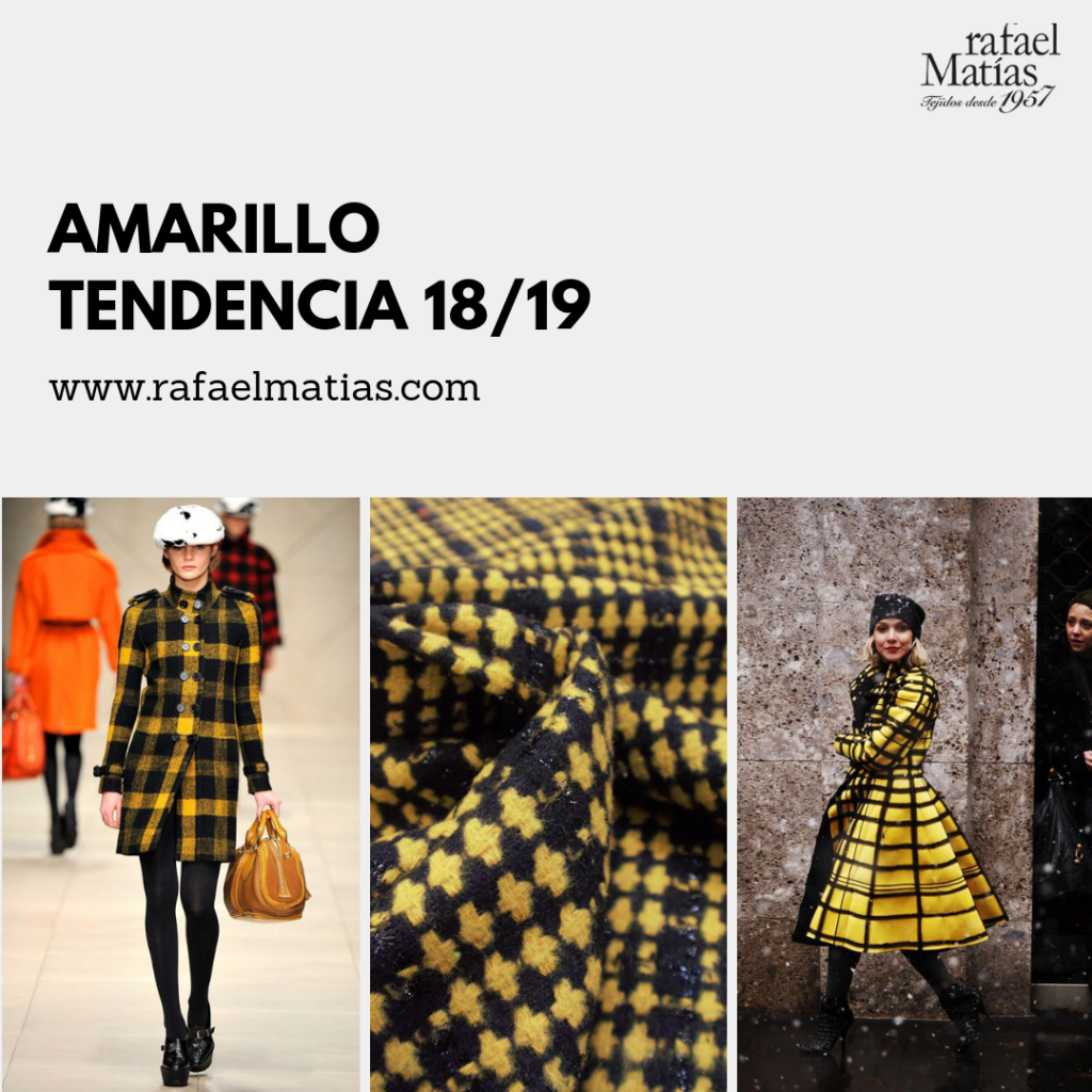 Amarillo. Tendencias 2018/19