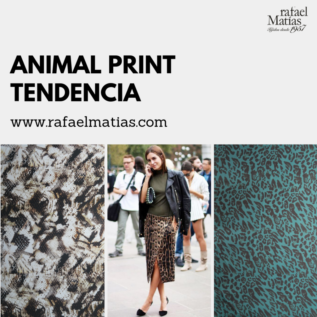 Animal Print. Tendencias 2018/19