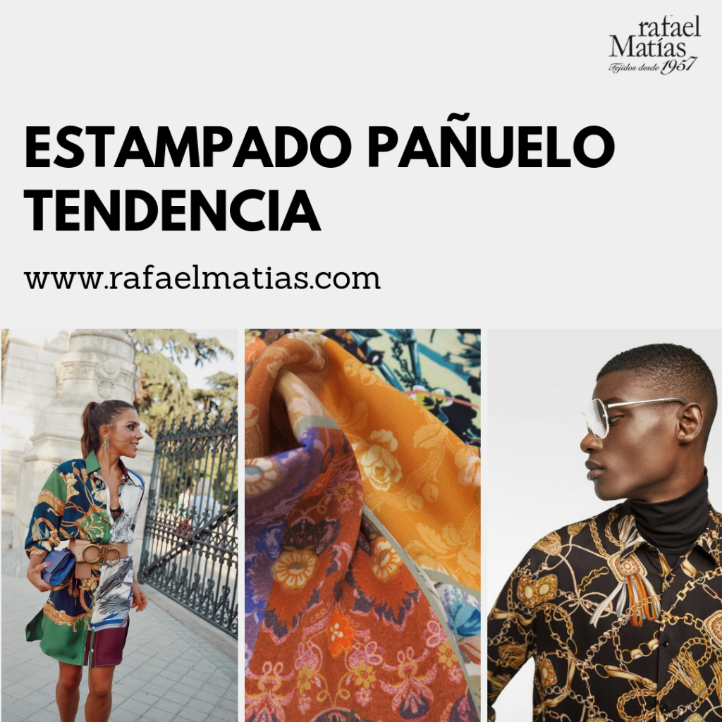 Estampado Pañuelo Tendencias 2018/19