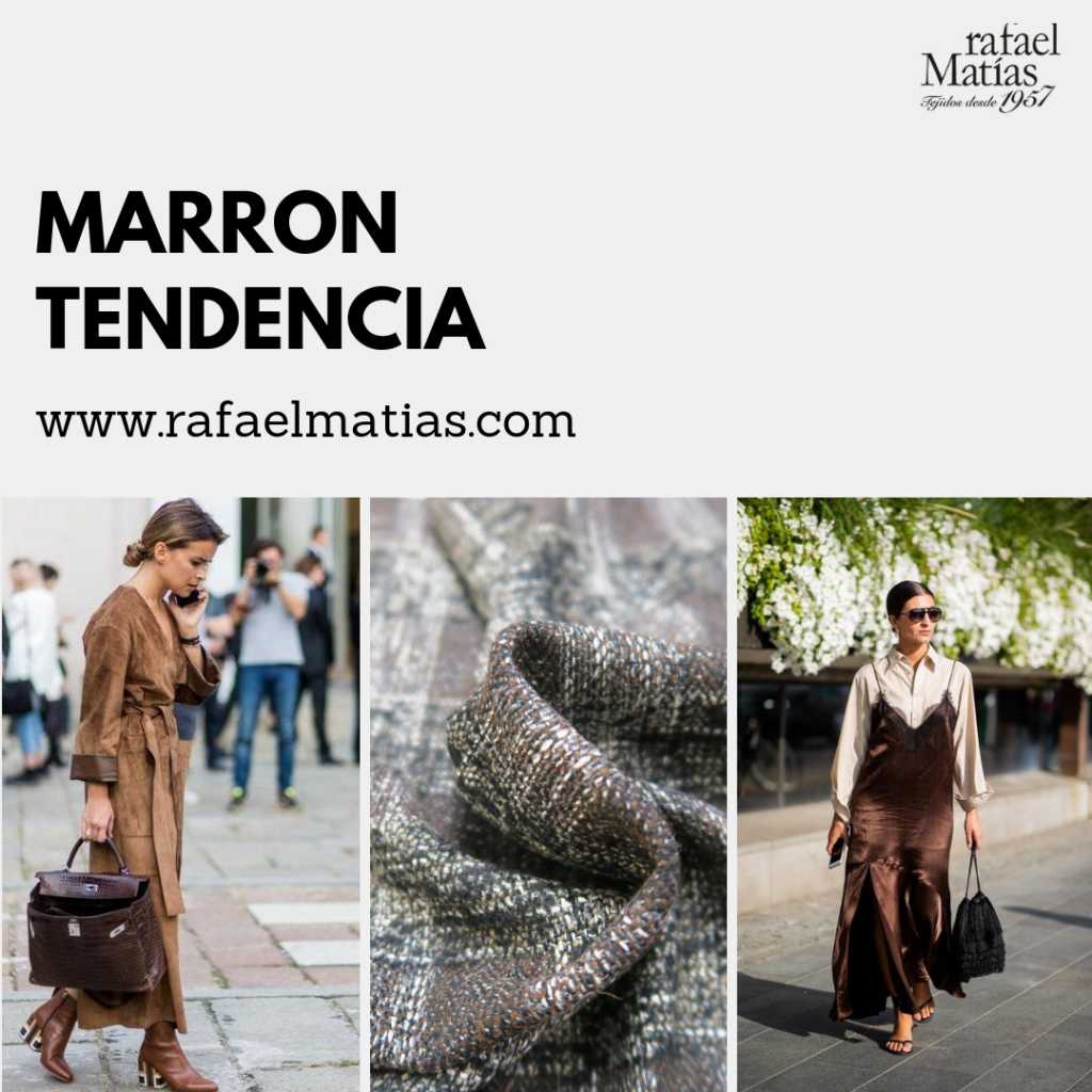 Marrón Tendencias 2018/19.