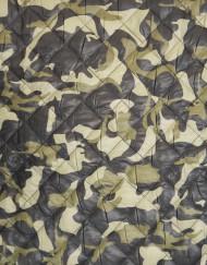 Tela acolchado camuflaje