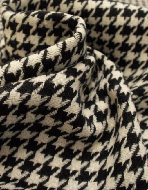 Tela lana pata de gallo